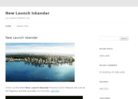 newlaunchiskandar.com