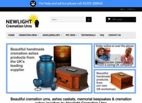 newlightcremationurns.co.uk
