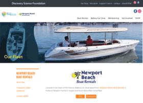 newportbeachboatrentals.com