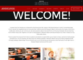 newportcenterumc.org