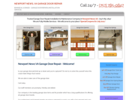 newportnewsgaragedoorrepair.net