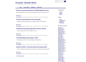 news.acousticsounds.com