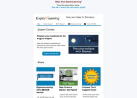 news.explorelearning.com