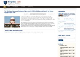 news.helplinelaw.com