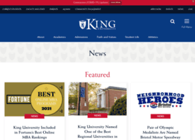news.king.edu
