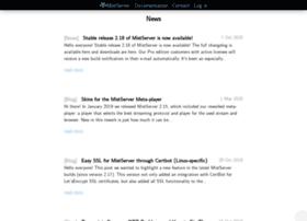 news.mistserver.org