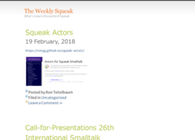news.squeak.org