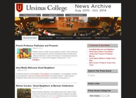 news.ursinus.edu