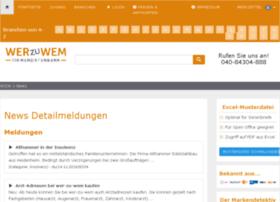 news.wer-zu-wem.de