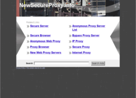 newsecureproxy.info