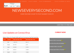 newseverysecond.com