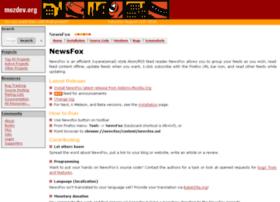 newsfox.mozdev.org