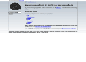 newsgroups.archived.at