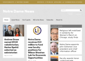 newsinfo.nd.edu