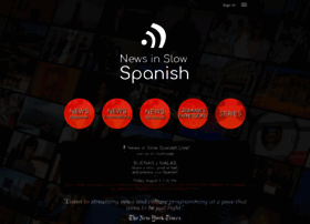 newsinslowspanish.com