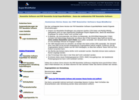 newsletter-software-php-script.superwebmailer.de