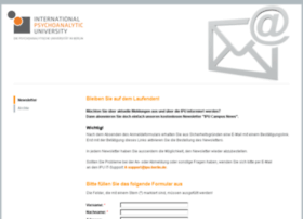 newsletter.ipu-berlin.de