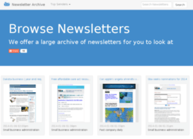newsletterarchive.org