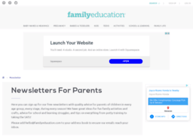 newsletters.familyeducation.com