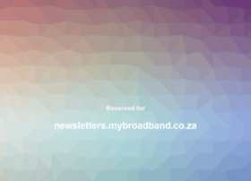 newsletters.mybroadband.co.za