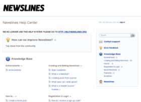 newslines.uservoice.com