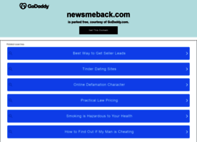 newsmeback.com