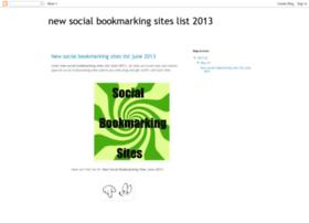 newsocialbookmarkingsite.blogspot.in