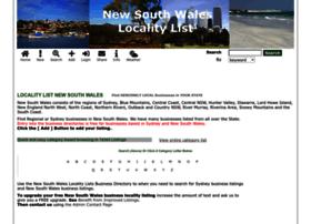 newsouthwales.localitylist.com.au