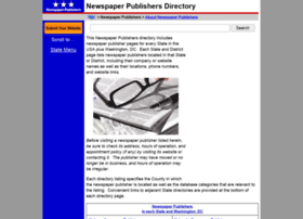 newspaper-publishers.regionaldirectory.us