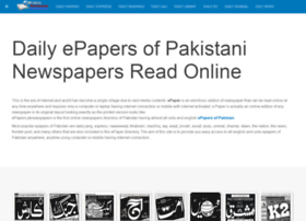 newspapers.com.pk