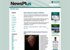 newsplus.sutterhealth.org