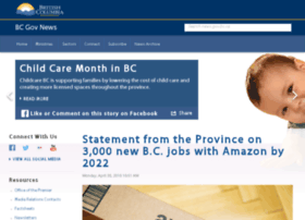 newsroom.gov.bc.ca