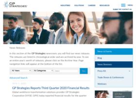 newsroom.gpstrategies.com