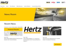newsroom.hertz.com