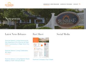 newsroom.sunriseseniorliving.com