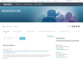 newsroom.varian.com