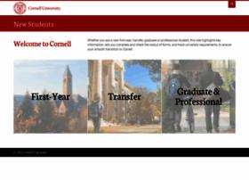 newstudents.cornell.edu