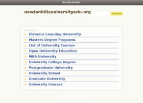newtonhillsuniversityedu.org