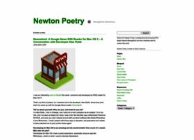 newtonpoetry.com