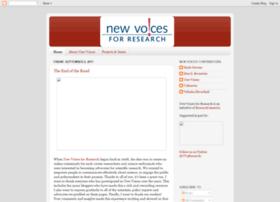 newvoicesforresearch.blogspot.com