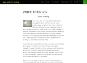 newvoicetraining.com