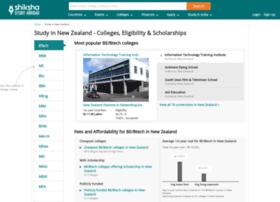 newzealand.shiksha.com