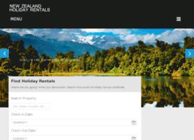 newzealandholidayrentals.com