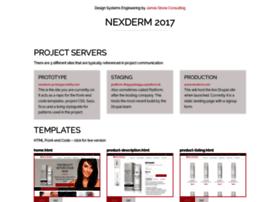 nexderm-prototype.bitballoon.com