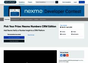 nexmo-crm.challengepost.com