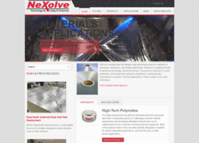 nexolvematerials.com