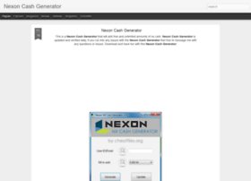 nexoncashgeneratornew.blogspot.com