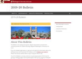 nextbulletin.wustl.edu