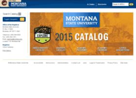 nextcatalog.montana.edu