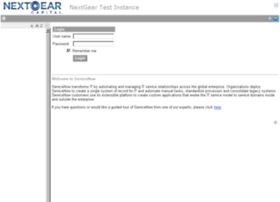 nextgeartest.service-now.com